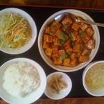 13098130 - マーボー豆腐定食(780円) スタンダード