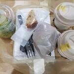 麹町カフェ - 何やらアイテムが多いと、開ける前からわくわく