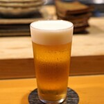 浅草じゅうろく - アサヒスーパードライの生ビール