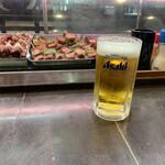 信長本家 - 生ビール