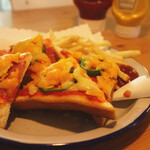 ハドル ハドル - Cheeze Pizza Toast 500yen