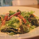 ハドル ハドル - Bacon Ceasar Salad 690yen