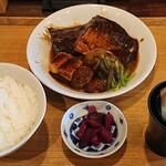 130995303 - サバの味噌煮膳 1,100円