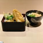 穴子印 江坂海鮮天ぷら おーうえすと - お料理
