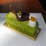 130998875 - ピスタチオのケーキ