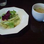 131352 - ランチのサラダ&スープ