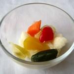 静華 - 野菜のピクルス