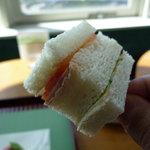 キーウエスト - ☆サンドイッチは2種類が串にささっています☆
