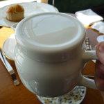 キーウエスト - ☆紅茶も少し注ぎましょう☆