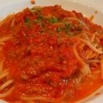 ベルソリーゾ - ミートソース(スパゲティ)