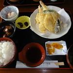 優雅 - ランチの天ぷら定食
