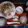 ホワイトハウス - 料理写真:野菜炒め定食