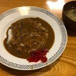 蕎麦ダイニング 喜楽庵 纔 - 料理写真:半カレーライス