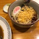 蕎麦ダイニング 喜楽庵 纔 - 料理写真:半たぬきそば