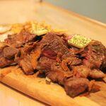 ハドル ハドル - Garlic Steak 600g 3,980yen