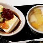131007314 - 豆腐とデザート