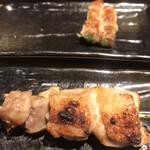 鐵の家 - もも209円。香ばしく、ジューシーで、塩梅も良く、とても美味しくいただきました(╹◡╹)