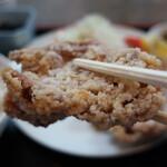 遠州屋 - 鶏唐揚定食