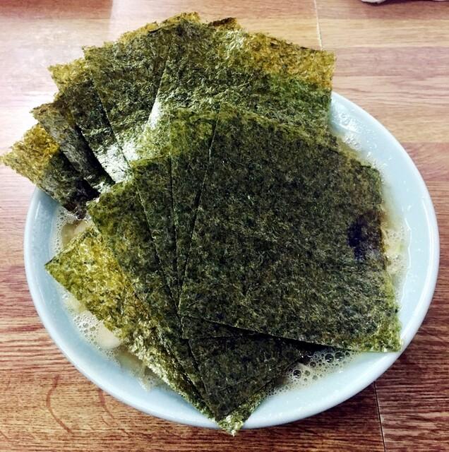 オノミチ - ラーメン650円麺硬め。海苔増し100円。