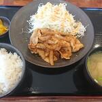 131016968 - 生姜焼き定食100g(2020/1/9)
