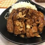 トンテキ食堂8 - トンテキ定食(1050円)