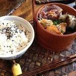 らうめん風 - 発芽玄米ご飯