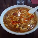 独一処餃子 - サンラータン麺
