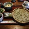江戸そば 日月庵 - 料理写真:お蕎麦と豆腐のセット