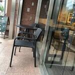スターバックス・コーヒー - テラス席がもう一つ