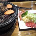 七輪焼みなみ - 料理写真:セットA2980円。これにみなみ焼きが付く