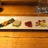 Sakaishoukai - 料理写真:お造り  唐津産の赤雲丹、唐津産の九絵(クエ)、鰹、天草産の伊佐木