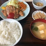味処いちむら - ポークソテー定食(1020円)