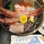 うおとら - 料理写真:海鮮丼ランチ