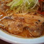 131039585 - 辛口炙り肉ソバ味噌(厚切りバラチャーシュー)