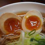 131039591 - 辛口炙り肉ソバ味噌(味玉)
