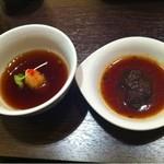 13104051 - 薬膳鍋のポン酢とタレ