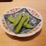 鮨 尚充 - 枝豆