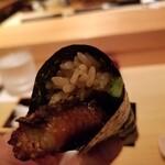 鮨 尚充 - 鰻胡瓜手巻き