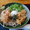 長住うどん - 料理写真:納豆そば620円。