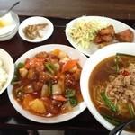 台湾料理 福ちゃん食堂 - 料理写真:酢豚定食 980円