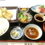 銀ちろ - 料理写真:銀ちろ定食 税込1700円