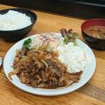 文ちゃん - 料理写真:牛カルビ焼定食
