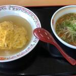 Gyouzanooushou - 日替わりランチ795円税込、揚げ餃子到着前