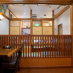 うなぎ 浜名 - 2020.6 テーブル席と堀りごたつ式の座敷