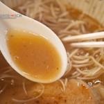 らーめん こもり家 - こってり醤油(スープ)