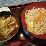 武蔵庵 - 料理写真:「肉汁うどん♪」