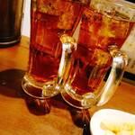 風神ラーメン - ウーロン茶割