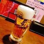風神ラーメン - 生ビール
