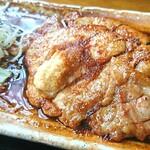 まるいち亭 - 料理写真:「生姜焼き定食」①