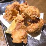 水炊き・焼き鳥 とりいちず - 鶏の唐揚げ8個¥480 2020.6.2